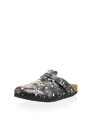 53% OFF Birki's Kid's Woodby Mad Mickey Clog (Black)