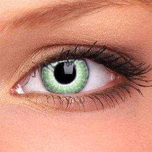 Lentilles de contact couleur 2 tons vert WM201