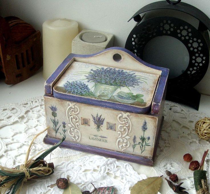"""Купить Лаврушница """"Лавандовая"""" - коробочка для мелочей, лаврушница, лаванда, васильковый, лавандовый цвет, сиреневый цвет"""