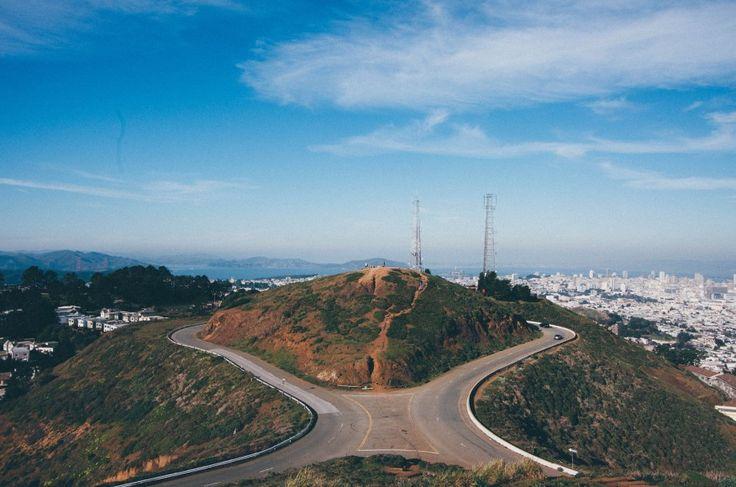Twin Peaks #San #Francisco #SanFrancisco #USA #America #TwinPeaks #Twin #Peaks #View #Utsikt #Travel #Vackert