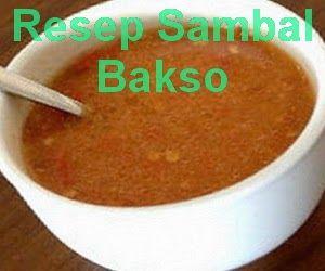 Resep sambal bakso yang pedas nya pas buat teman makan mie ayam, tekwan dan lainnya. Buat sendiri cek > resep cara membuat sambal bakso berikut - http://www.infooresep.com/2014/03/resep-sambal-bakso.html