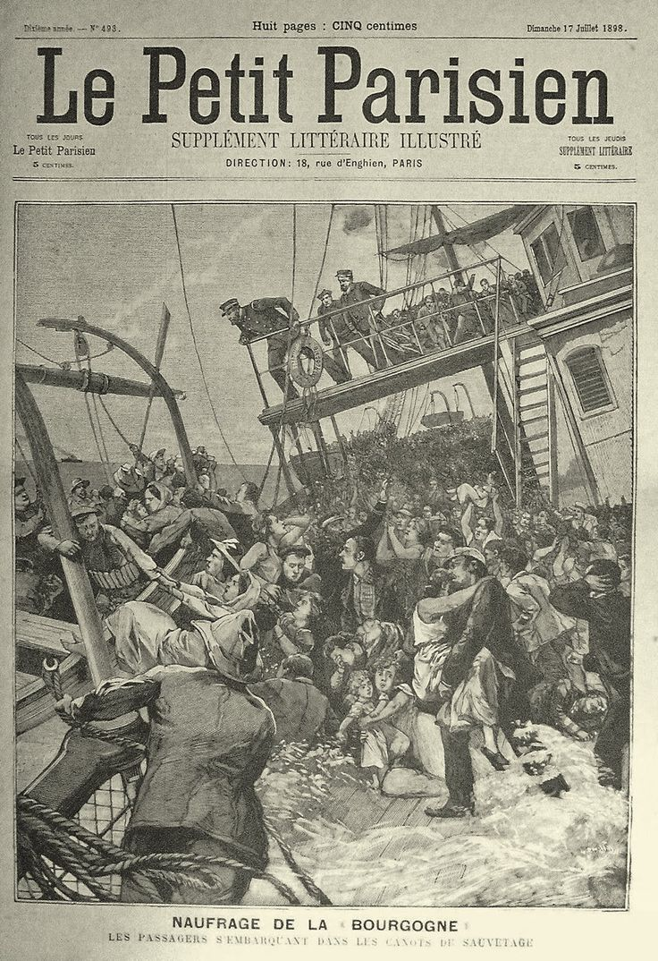... los treinta minutos que tardó la nave en hundirse y durante las ocho horas que pasaron en el agua antes de ser rescatados por un bote desde el Cromartyshire,