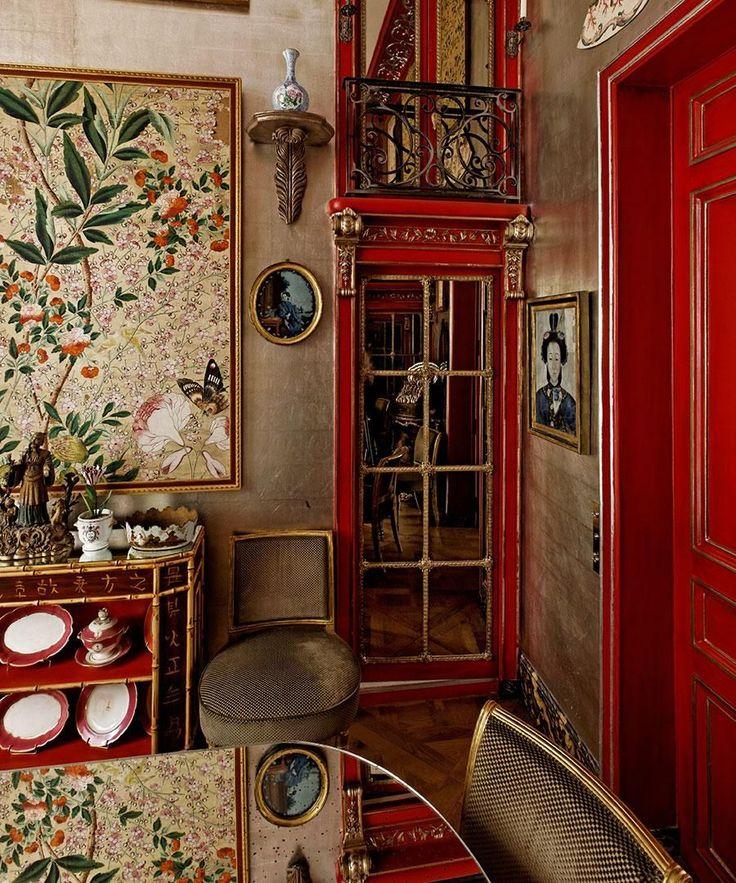 Sylvain Levy-Alban's Paris dining room.