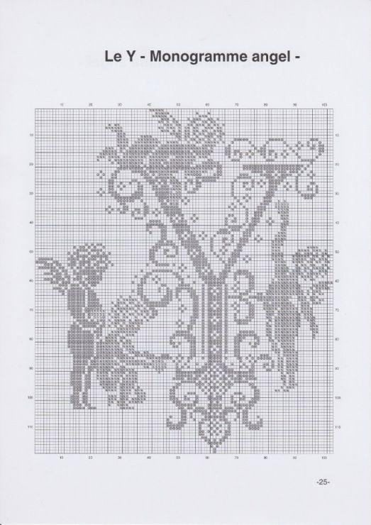 Gallery.ru / Фото #28 - JD327 - Monogrammes Angels - lyulnar