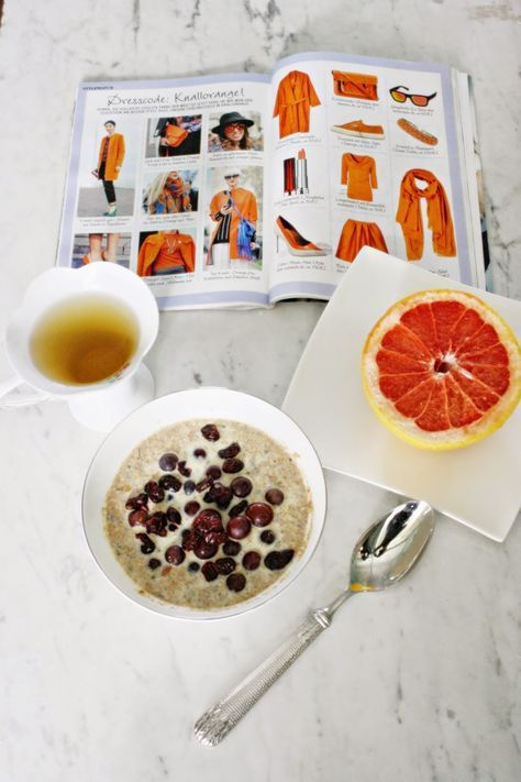 Frühstücken mit Erdmandelflocken