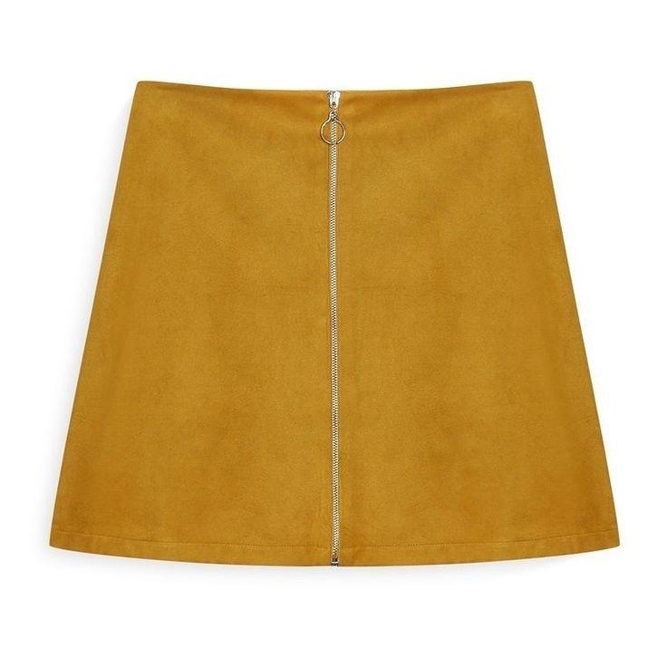 Falda con cremallera mostaza Categoría:#faldas #primark_mujer #ropa_de_mujer en #PRIMARK #PRIMANIA #primarkespaña Más detalles en: http://ift.tt/2C7Cyg6