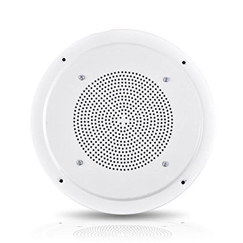 The #Pyle Pro PDICS8 two-way in-ceiling speaker system delivers stereo sound to any room in your home or office without cluttering floor space. It also contains ...
