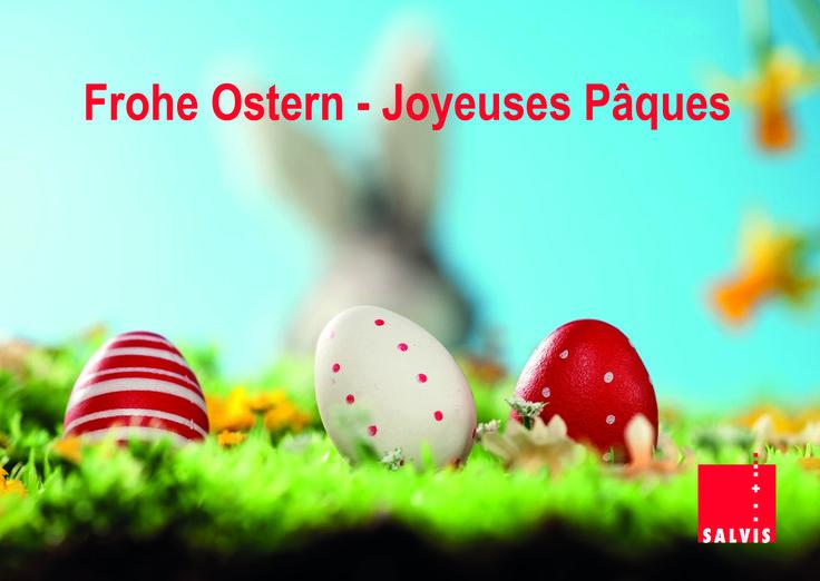 Wir wünschen allen unseren Partnern und Kunden frohe Ostern und eine erfolgreiche Saison.   Nous vous souhaitons à tous et à toutes de Joyeuses Fêtes de Pâques, ainsi qu`une excellente Saison.