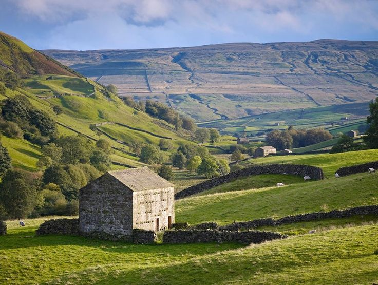 Swaledales, Yorkshire dales, uk