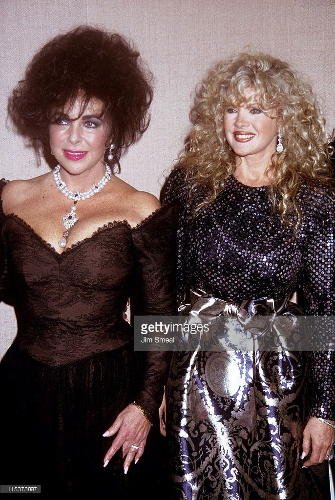 Image result for elizabeth taylor with connie stevens