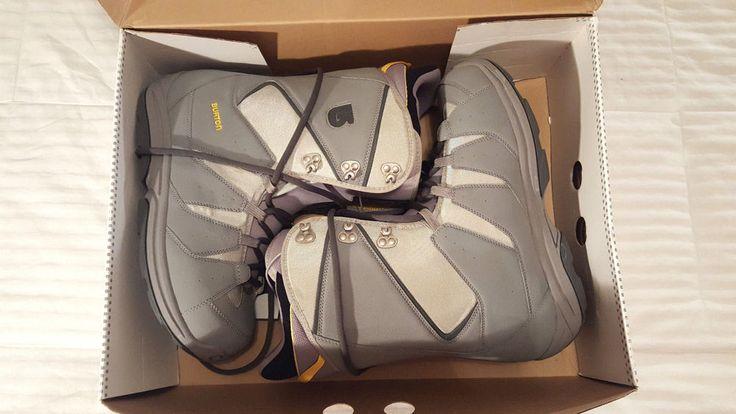 Burton MOTO Men's Snowboard Boots U.S.13  Gray/Yellow  Winter New Box #BurtonMoto