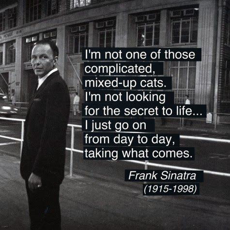 """Remembering Frank Sinatra 