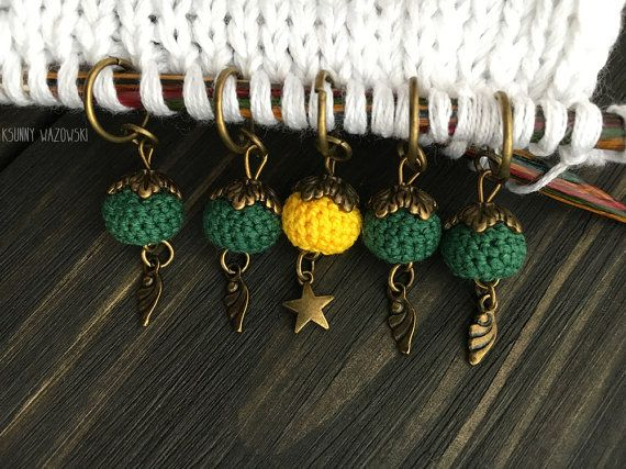 Stitch markers for knitting knitting markers by ksunnywazowski