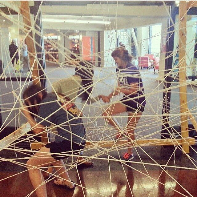 What if students found this waiting for them at your next event? Make a maze / obstacle course / spider web for kids to walk through when they get there. Might be perfect for a halloween party. Idea and photo by @matthewosburn1 #stumin #youthmin #youthgames #youthministryideas View original post on our @YouthMinistryIdeas Instagram account Other …