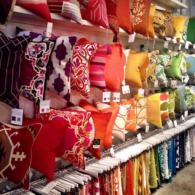 Throw Pillow Display Rack : 44 best images about Cuddle Up!! on Pinterest Metal rack, Wall decor and Eggplants