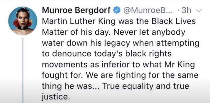"MLK was not viewed in his own time the way he is seen now. Heroes aren't usually seen as heroes while they're still alive... they're thrown in jail, labeled ""extremists"", and murdered or assassinated. Only hindsight lets society acknowledge a radical's greatness."