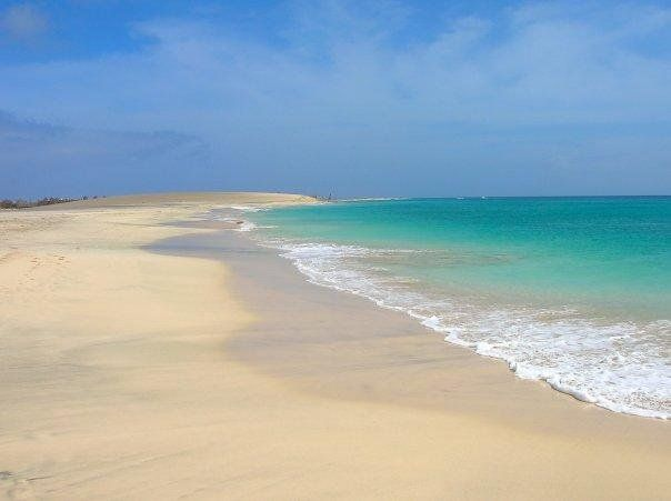 Beach in Sal, Cape Verde www.capeverdeinformation.com #travel #caboverde