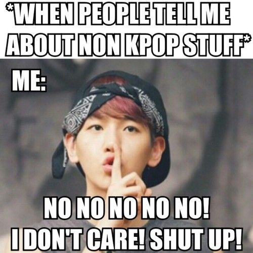 Baekhyunnie shutting up those people talking nonsense before they even start.