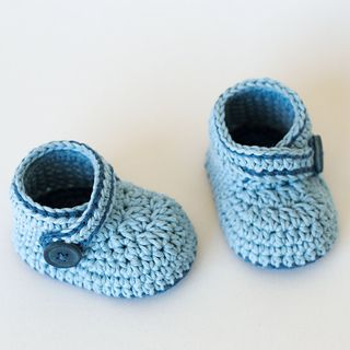 Free pattern baby booties                                                                                                                                                                                 More