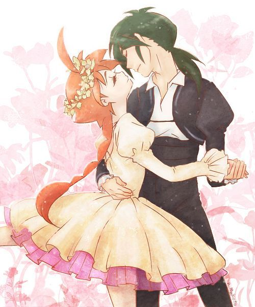 8- Favorite anime couple: Duck and Fakir from Princess Tutu