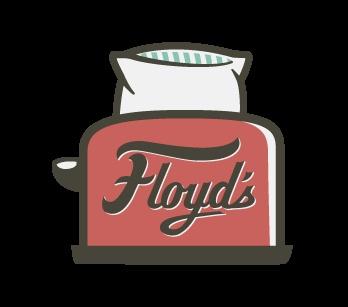 Floyd's Bed & Breakfast logo by Alex Register
