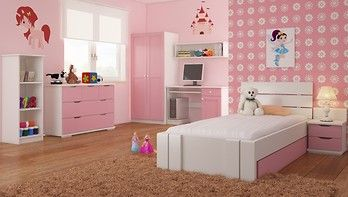 Arhus High Drawers łóżko dla dzieci i młodzieży