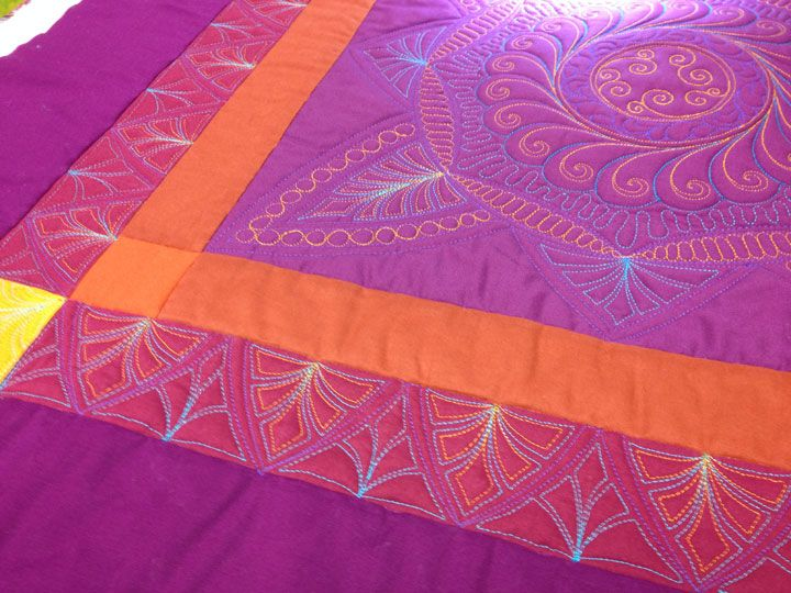 Quilting Designs For Borders : 17 Best images about fmq borders on Pinterest Stitching, Feathers and Piano keys