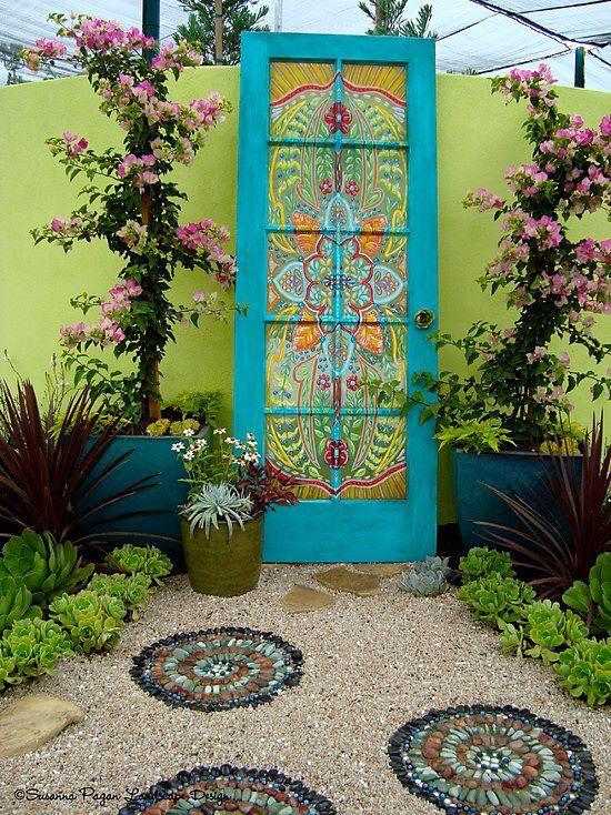 Let my love open the door...to your patio   #Anthropologie #PinToWin