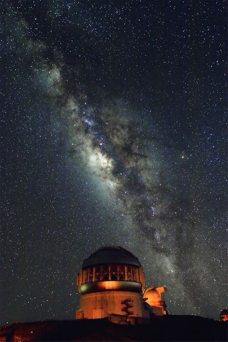 Gemini Observatory: Northern Operations Center, located at the Mauna Kea Observatory on the summit of the large dormant volcano, Mauna Kea, in Hawaii