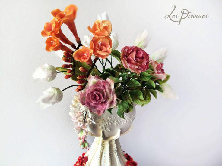 flori din zahar mireasa