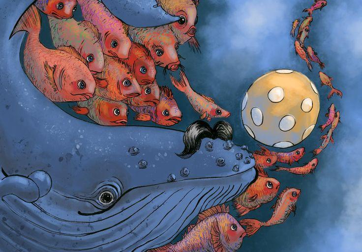 """underwater"" - artwork by eileen marie tretter - sashura art"
