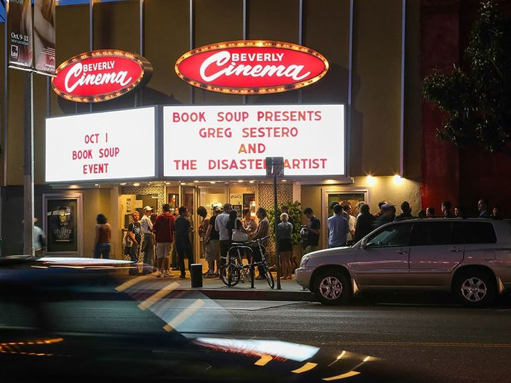 The New Beverly Cinema revival house is a haven for L.A. film buffs, and with good reason: Filmmaker Quentin Tarantino has owned the place since 2007. In 2014, the writer-director took over programming duties, and has pulled 35 mm prints from his own home collection. Tarantino began his tenure with his own print of Bob & Carol & Ted & Alice and has Sergio Leone's Clint Eastwood westerns on the slate, too. Surprisingly, he's also curating kid-friendly weekend matinees, spotligh...