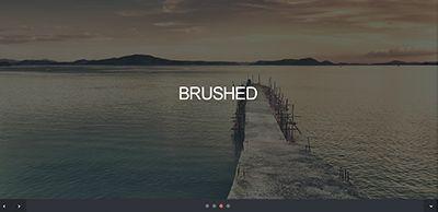 Šablona zdarma Brushed
