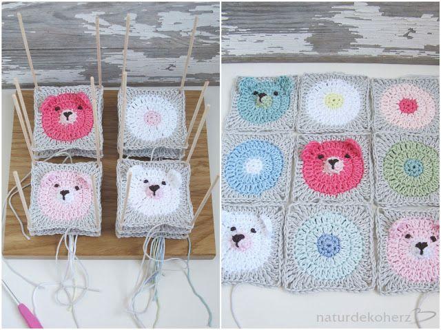 59 best Häkeln - Granny / Square images on Pinterest | Crochet ...