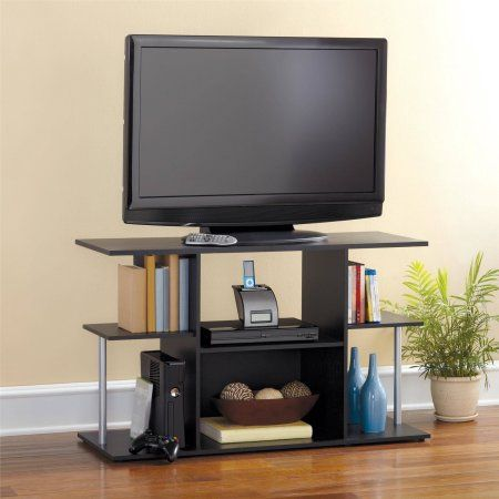 Mainstays 42 Inch Tv Stand In Black Oak Color