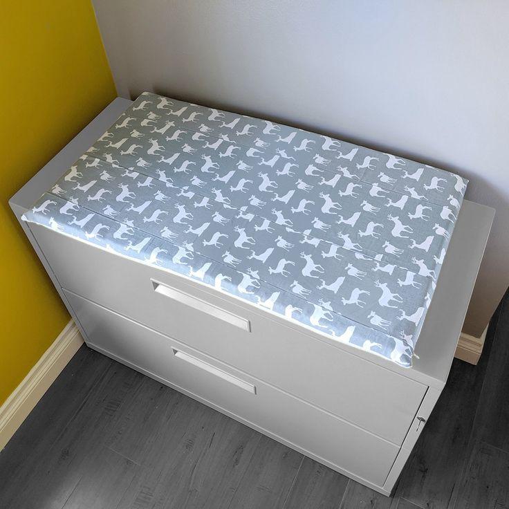 Deer Gray IKEA STUVA Bench Pad Slip Cover in 2020 Ikea