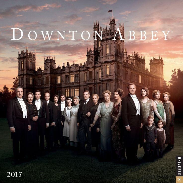 Downton Abbey Wall Calendar