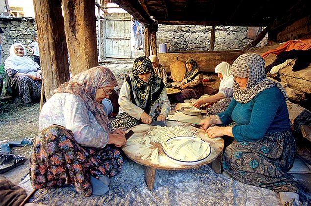 Sıcak kanlı kasaba insanıyla hemhal olun...Akkaya, Muğla-Turkey