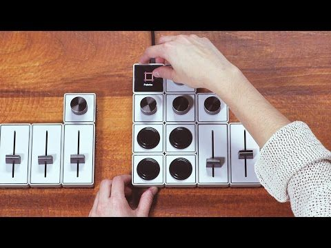 Modular analogue tools create hands-on interface for digital softwares | Springwise