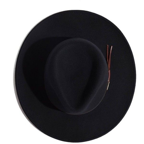 Stetson 'Bozeman' Crushable Felt Cowboy Hat ($69) ❤ liked on Polyvore featuring men's fashion, men's accessories, men's hats, black and mens felt hats