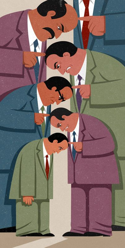 Love John Holcroft's colours and style, and the fact that his illustrations are mainly hard and inventive commentaries on unfortunate current societal trends.