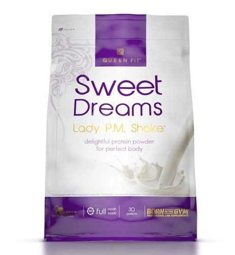 OLIMP Sweet Dreams Lady PM Shake Strawberry 750g whey protein for women