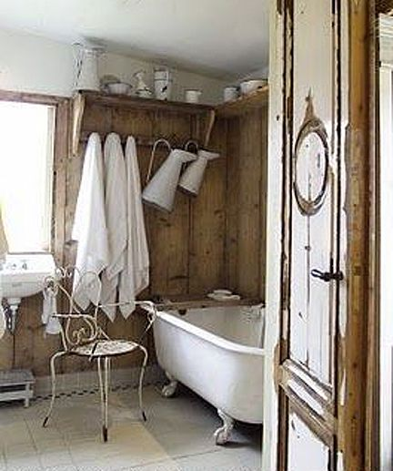 620 Best Shabby Chic Bathrooms Images On Pinterest Room Shabby Chic Bathro