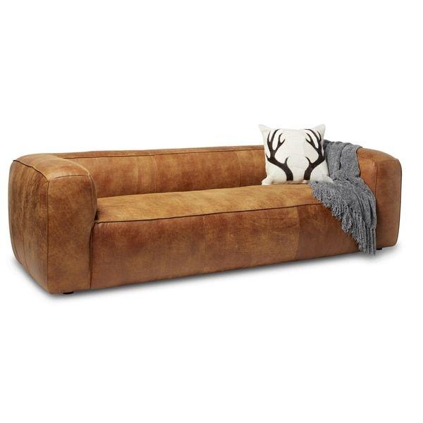 Diva Outback Bridle Italian Leather Sofa