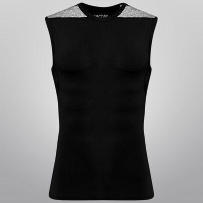 A Camiseta Regata de Compressão Adidas TF Base Preto e Cinza oferece suporte muscular e ventilação para atingir momentos de sucesso e satisfação durante aos treinos. | Netshoes