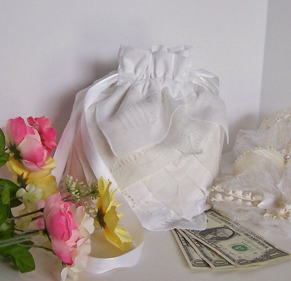 Dollar Dance Wedding Money Dance Bag by GreenbriarCreations