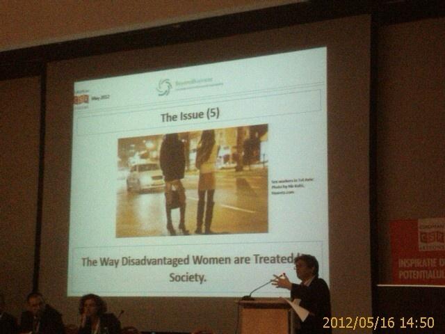 Ziua 2 - Beyond Business - cum sunt tratate de societate femeile dezavantajate
