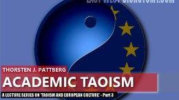 Taoism and European Culture - Academic Taoism