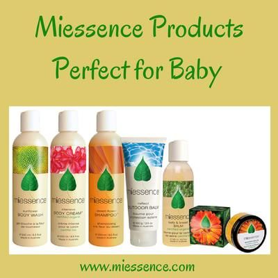 #Miessence #CertifiedOrganic products that are perfect for #babies
