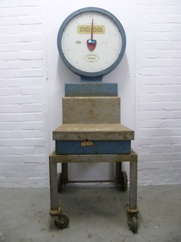 Industrial Weighing Scale, 1950s - PAMONO